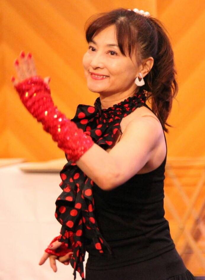 ダンサー・横山なお子さん